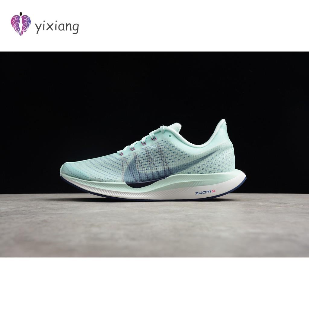 KSK@ Nike ZOOM PEGASUS 35 รองเท้าวิ่งผู้ชายผู้หญิงสีฟ้า