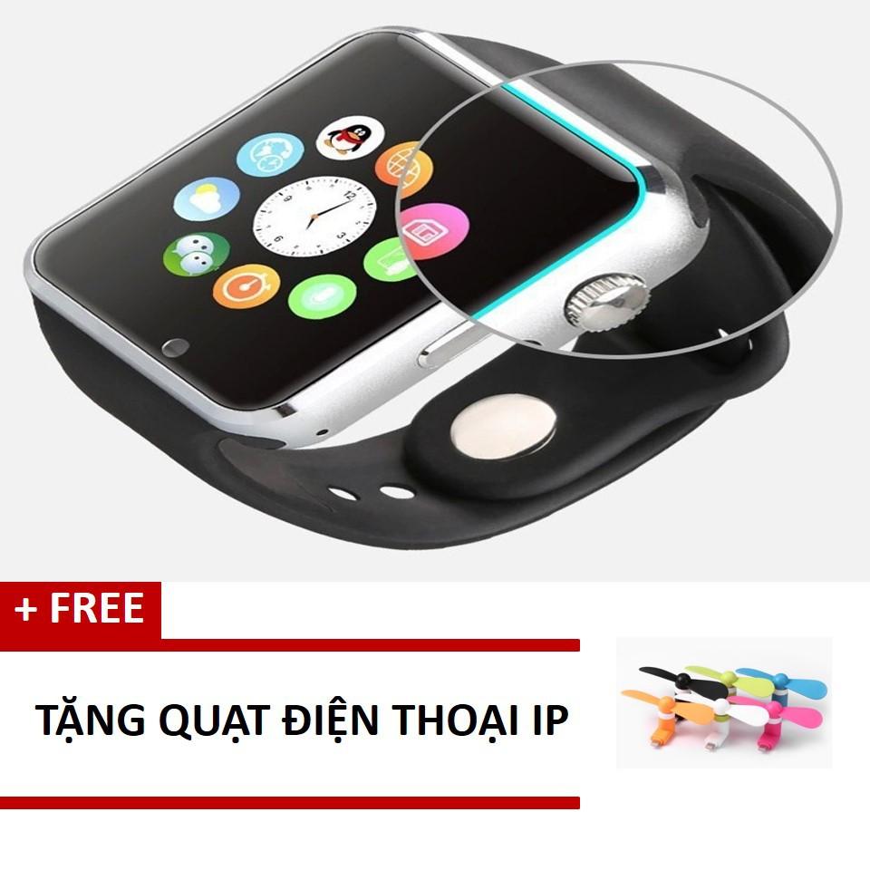 Free ship_Đồng hồ thông minh tặng quạt điện thoại