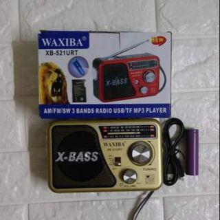 Đài Radio WAXIBA XB-521URT Cổng USB