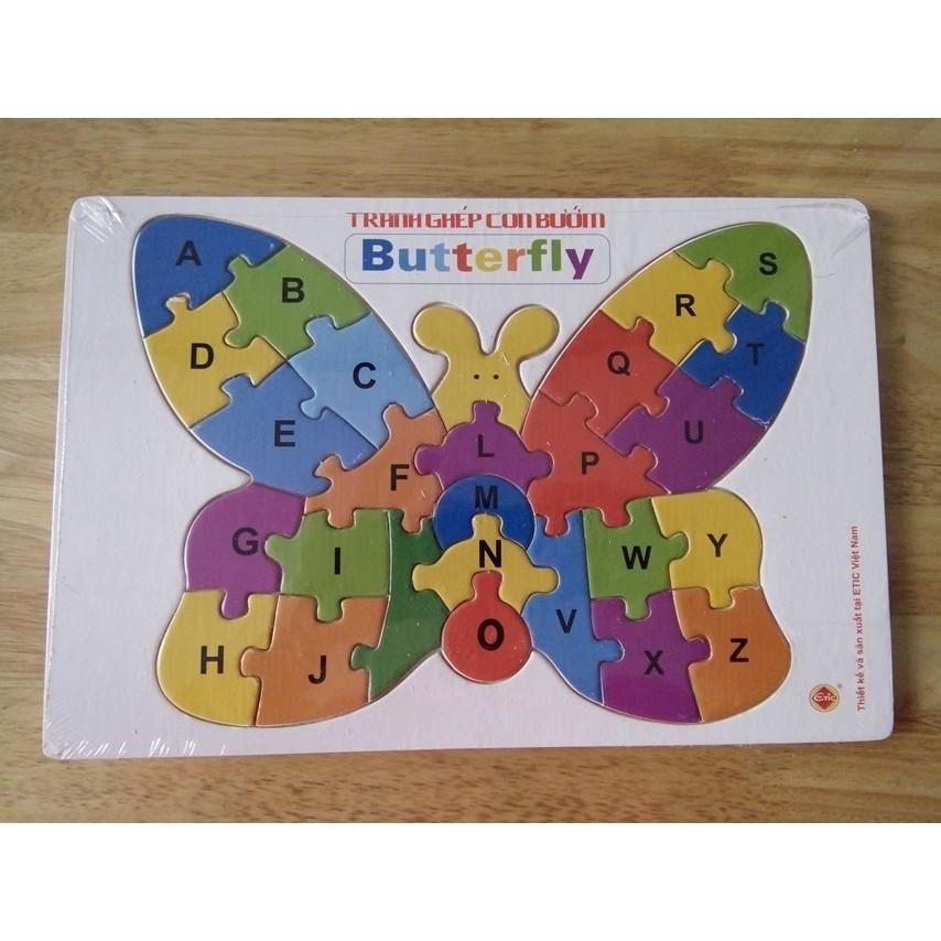 Etic - Tranh ghép gỗ hình con bướm cho bé - 22517473 , 1471187584 , 322_1471187584 , 39000 , Etic-Tranh-ghep-go-hinh-con-buom-cho-be-322_1471187584 , shopee.vn , Etic - Tranh ghép gỗ hình con bướm cho bé