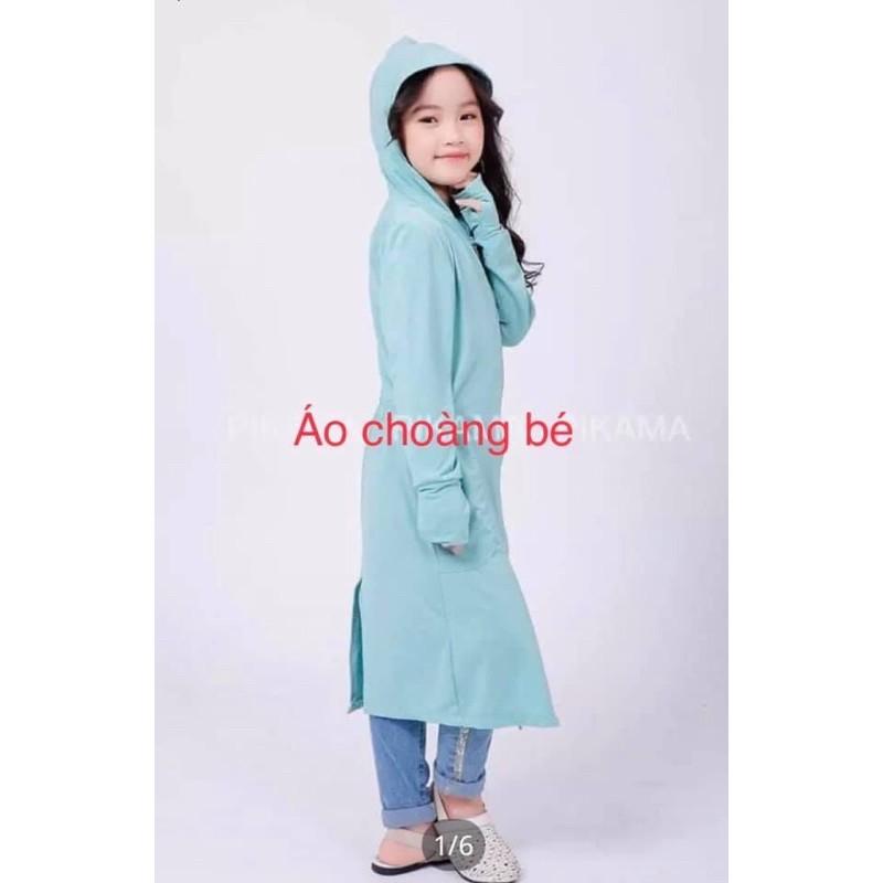 [ mã FASHIONF5N giảm 10k cho đơn hàng 69k ] áo chống nắng toàn thân cho bé ( 3-10 tuôi )( chất vải siêu thoáng mát )