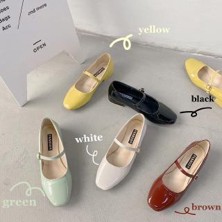 Giày Mary Jane mũi vuông thời trang