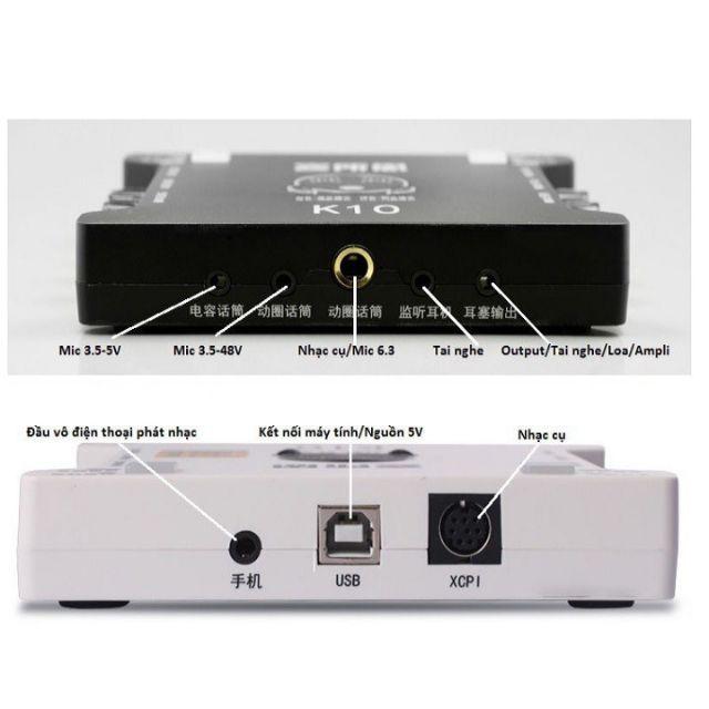 Conbo bo mic livestream k10 va bm900