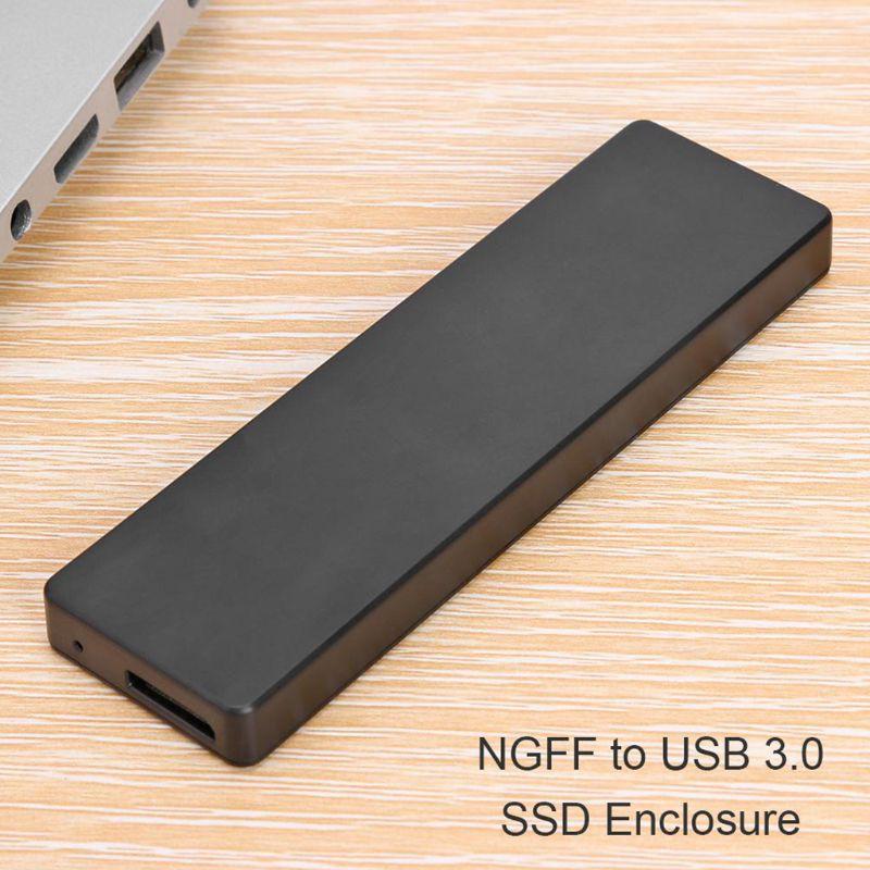 Ổ Cứng Ngoài Cho Ngff Sata M.2 Sang Type-c Usb3.0 Ssd Hdd