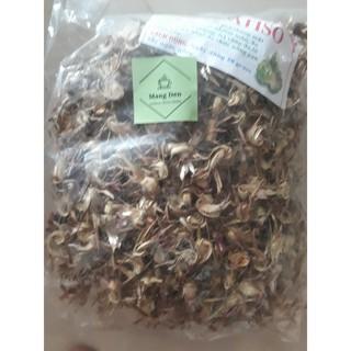 Hoa atiso khô Măng Đen