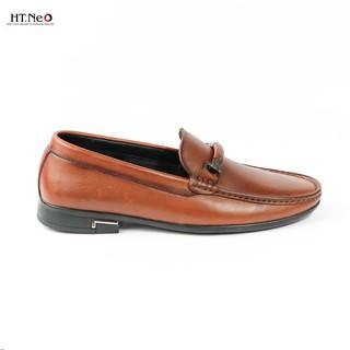 Giày mọi nam- giày da cao cấp HT.NEO da bò nguyên miếng nhập khẩu siêu mềm, kiểu dáng sang trọng. quai kim loại (D38) thumbnail