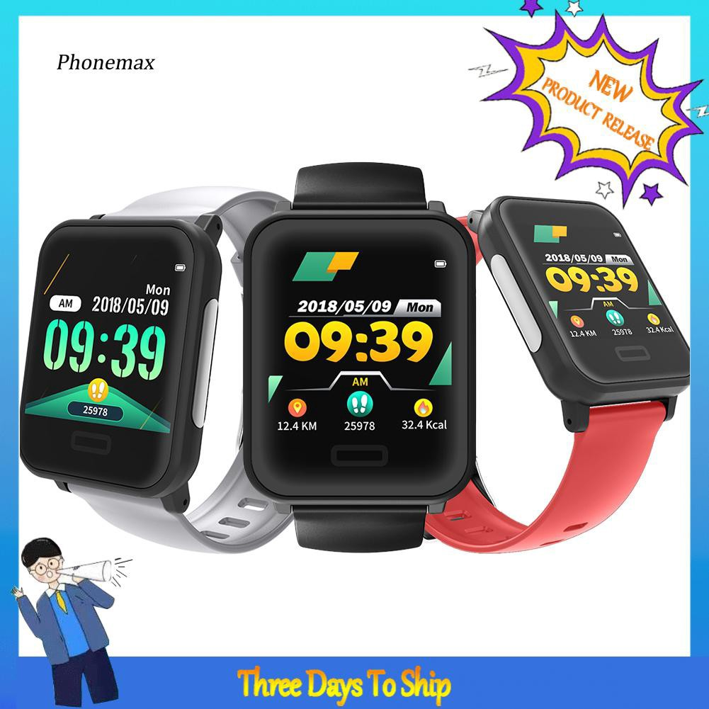 Hmax-E33 1.3inch Heart Rate ECG PPG Monitor Bluetooth Wristband Sports Smart Bracelet