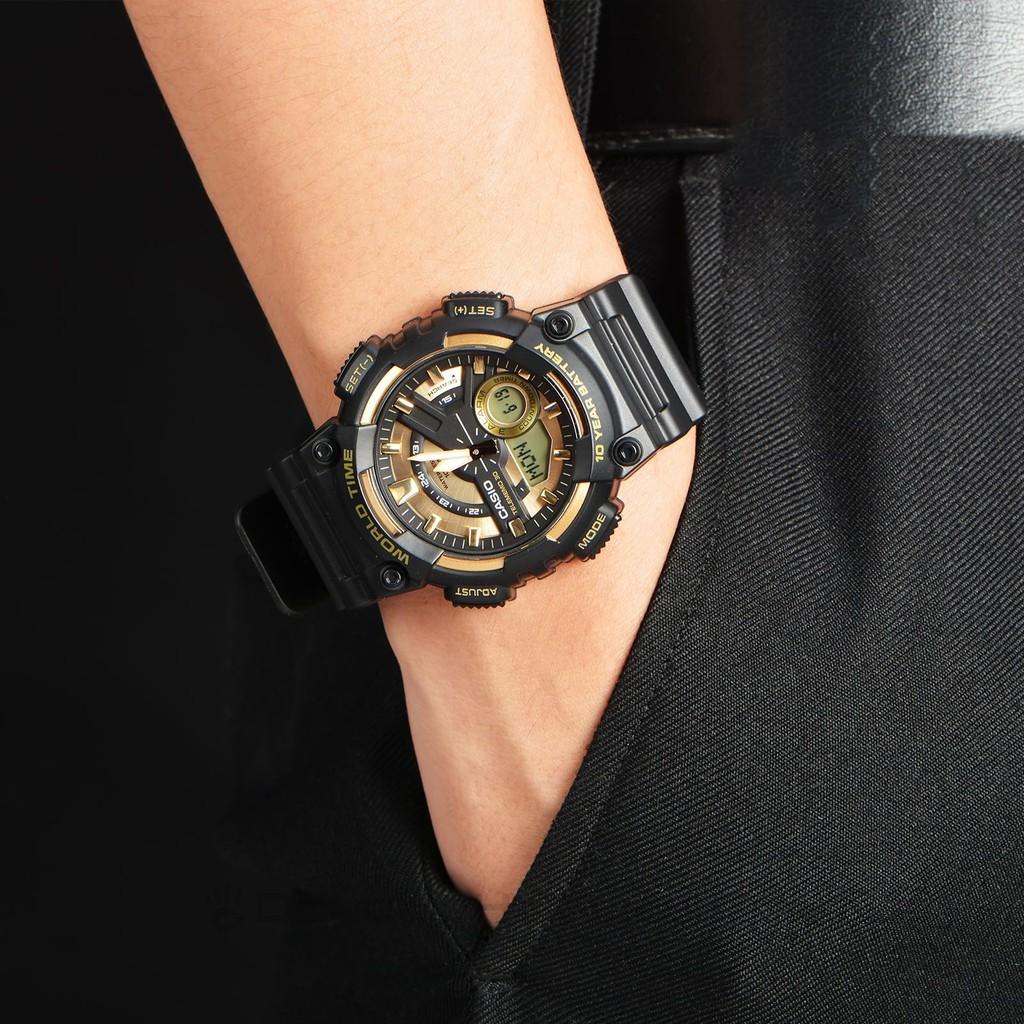 Đồng hồ nam Casio chính hãng Anh Khuê AEQ-110 Series