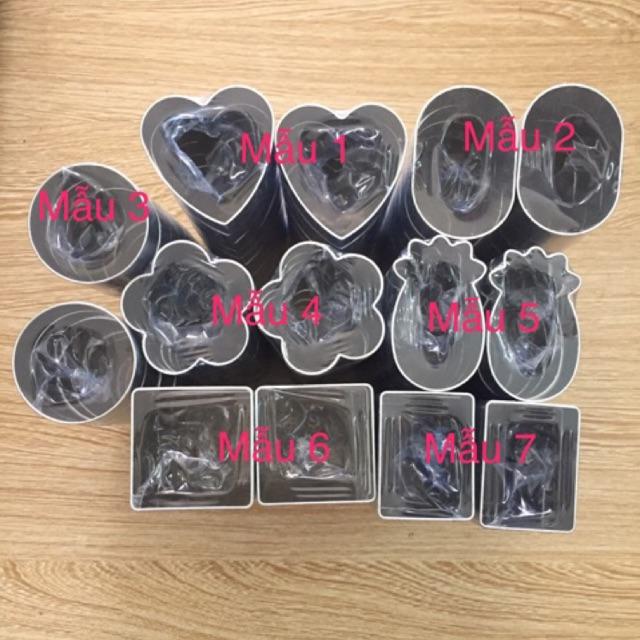 Set 10 khuôn dứa( khách lấy mẫu nào ghi chú cho shop)