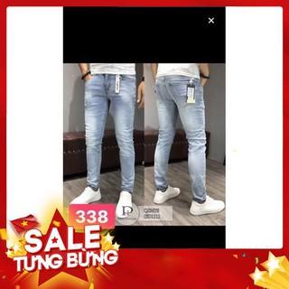 9.9 quần jean nam, quần jean TCS338 cao cấp -Hàng nhập khẩu