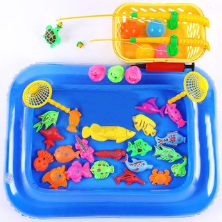 Sỉ, lẻ Bộ đồ chơi câu cá tại nhà cho bé _HL hàng nhập khẩu.