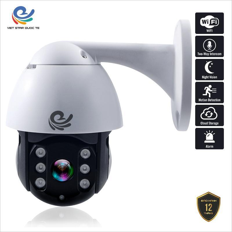Camera Wifi - CareCam Ngoài Trời 19HS-200W - Xoay Theo Chuyển Động