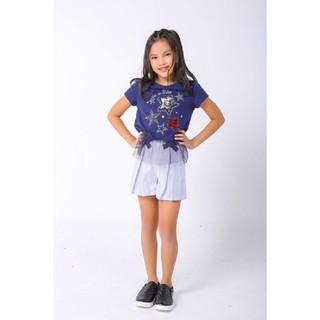 Áo thun bé gái ngắn tay Twinkle Star M.D.K