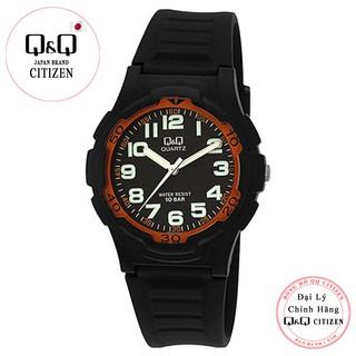 Đồng hồ nam thể thao Q&Q Citizen VP84J010Y kim dạ quang dây nhựa thương hiệu Nhật Bản