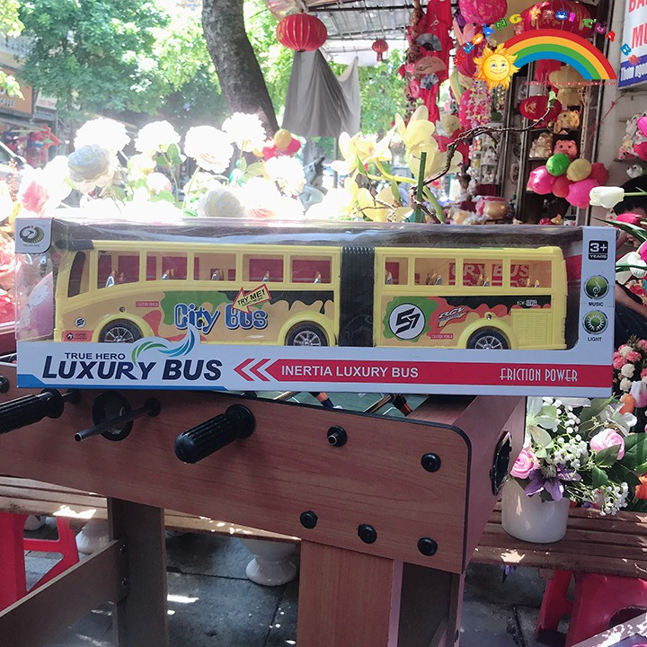 Đồ Chơi Trẻ Em Mô hình xe bus KB2140 [ĐỒ CHƠI TRÍ TUỆ]