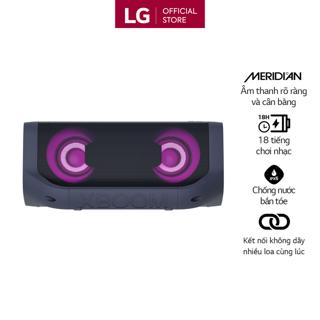 [Mã ELCE150 giảm 8% đơn 250K] Loa Bluetooth Di Động LG XBOOM Go PN5 - Hàng Chính Hãng - Màu Xanh Đen thumbnail