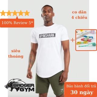 Áo phông thun cộc tay thể thao tập gym chạy bộ nam body co giãn 4 chiều thoải mái vận động GYGA thumbnail