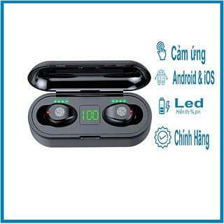 Tai nghe True Wireless kiêm sạc dự phòng Amoi F9 V5.0 - touch - Led
