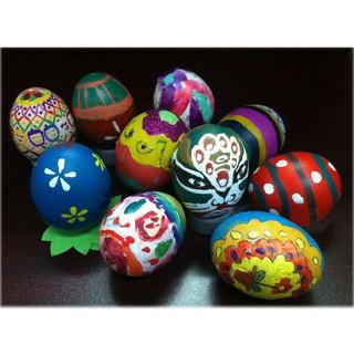 Sale [N6043] Combo 4 Trứng tô màu cho bé kèm bút lông TH71 Loại Tốt
