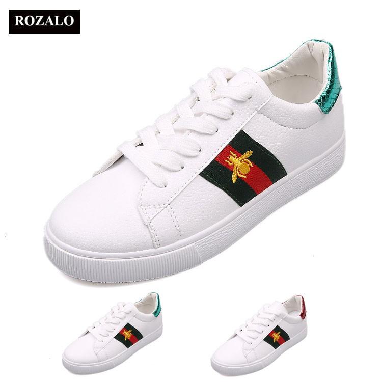 Giày thời trang thể thao nữ ong vàng Rozalo RM6006