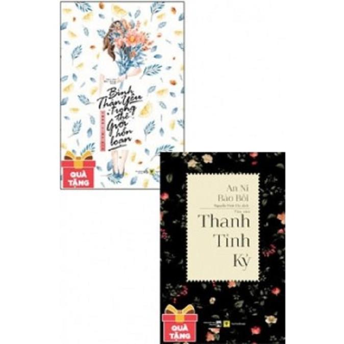 [ Sách ] ComBo Bình Thản Yêu Trong Thế Giới Hỗn Loạn - Thanh Tỉnh Kỷ ( Tặng Kèm Postcard Và Bookmar - 2976557 , 845811306 , 322_845811306 , 216000 , -Sach-ComBo-Binh-Than-Yeu-Trong-The-Gioi-Hon-Loan-Thanh-Tinh-Ky-Tang-Kem-Postcard-Va-Bookmar-322_845811306 , shopee.vn , [ Sách ] ComBo Bình Thản Yêu Trong Thế Giới Hỗn Loạn - Thanh Tỉnh Kỷ ( Tặng Kèm Po