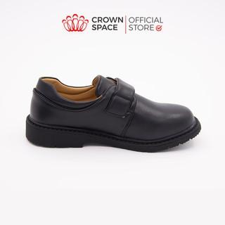Giày đi học màu đen cho bé trai Crown Space CRUK165 thumbnail
