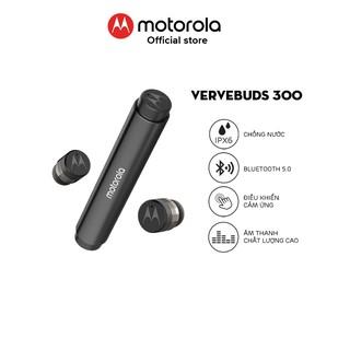 Tai nghe bluetooth Motorola không dây - VerveBuds300- chuẩn chống nước IPX6 - Thời lượng pin 10h