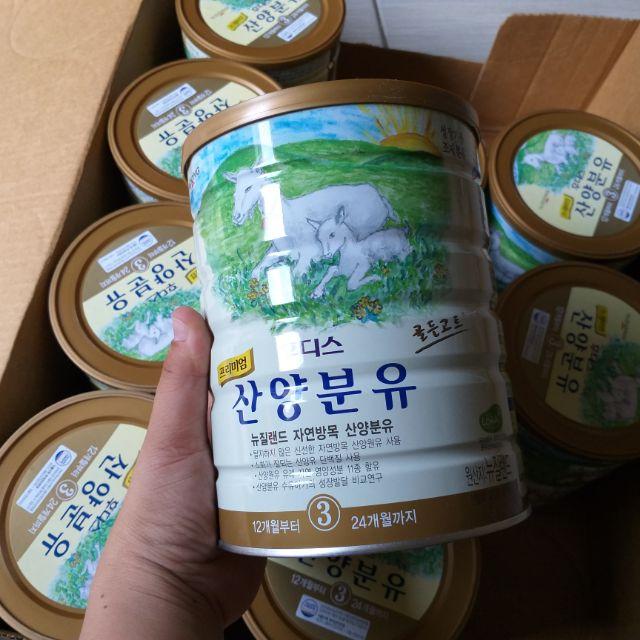 Sữa dê Ildong Sanyang số 3 loại 800g