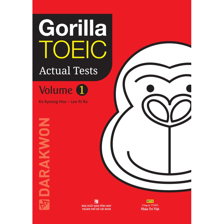 Gorilla TOEIC Actual Tests: Volume 1 (kèm CD)