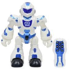 Người máy điều khiển phát nhạc có đèn, robot dieu khien