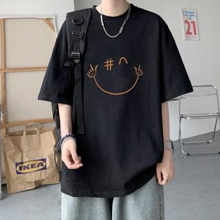 Áo thun nam nữ unisex tay lỡ Angel Devil, áo phông cotton freesize AD-Trend