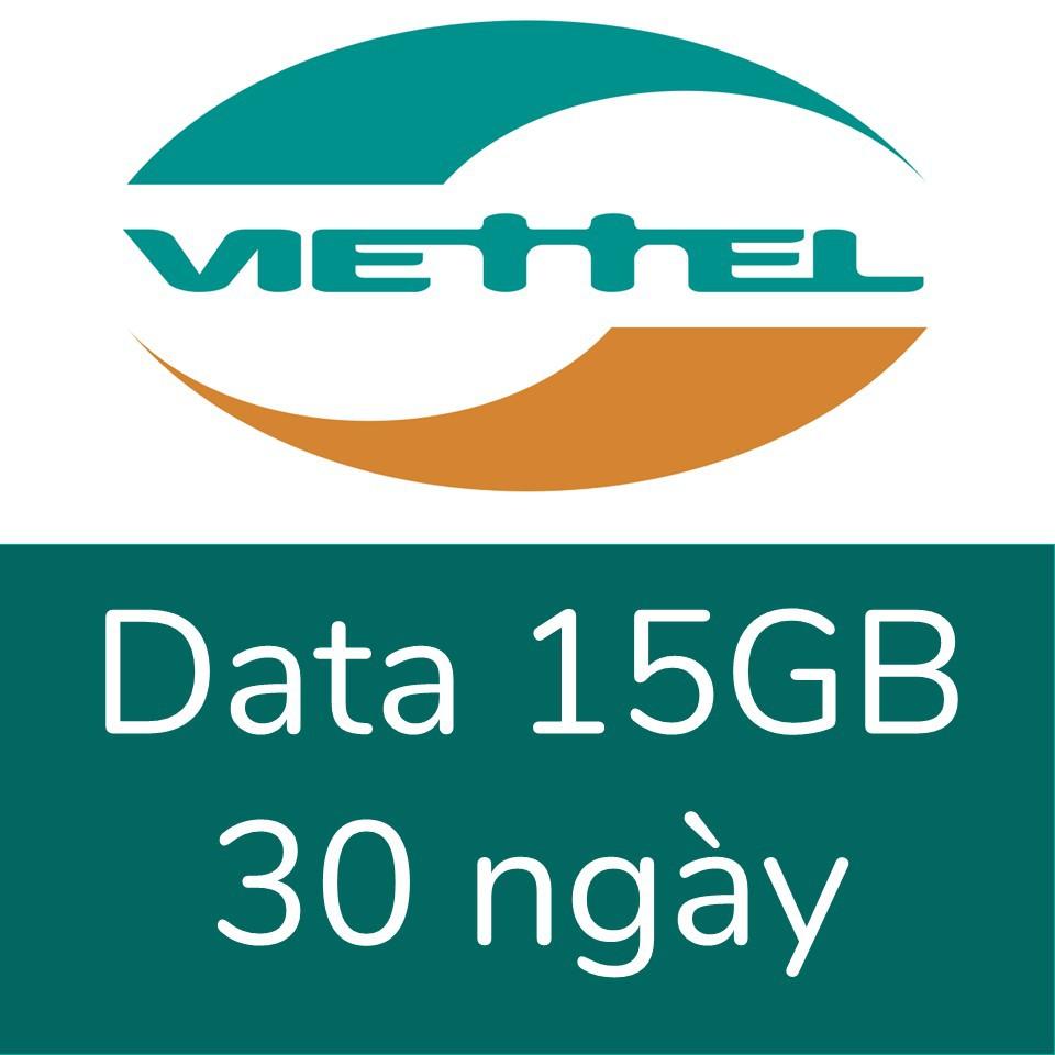 Viettel 15GB, 30 ngày