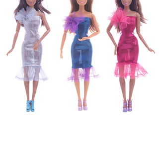 ❤❤Barbie doll accessories dress suitable for 27-29cm doll clothes