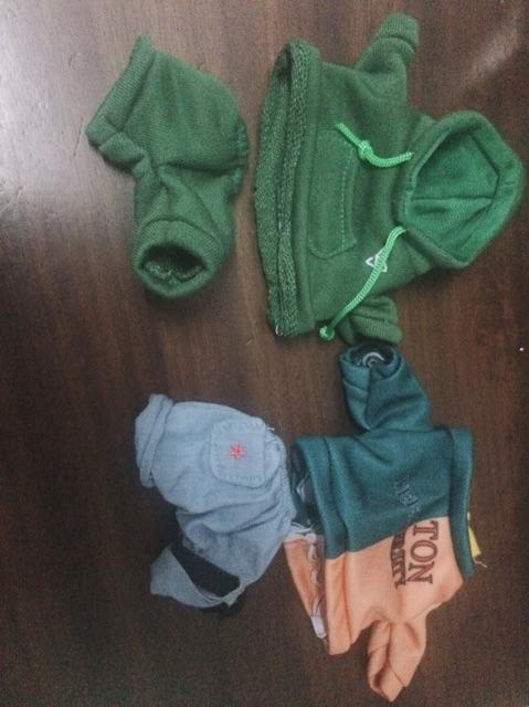 Quần áo cho búp bê
