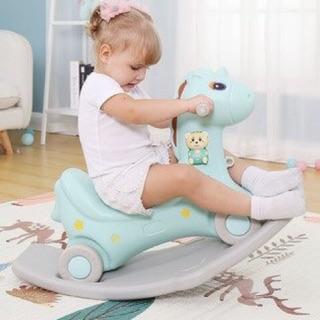 Hot! Ngựa bập bênh kiêm xe chòi chân độc đáo chính hãng Nosa- hàng đúng ảnh