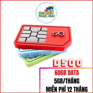 [FREESHIP] Sim 4G Viettel D500 – D500T 4Gb/tháng Trọn Gói 1 Năm Không Nạp Tiền – NGHE GỌI ĐƯỢC (giá khai trương )