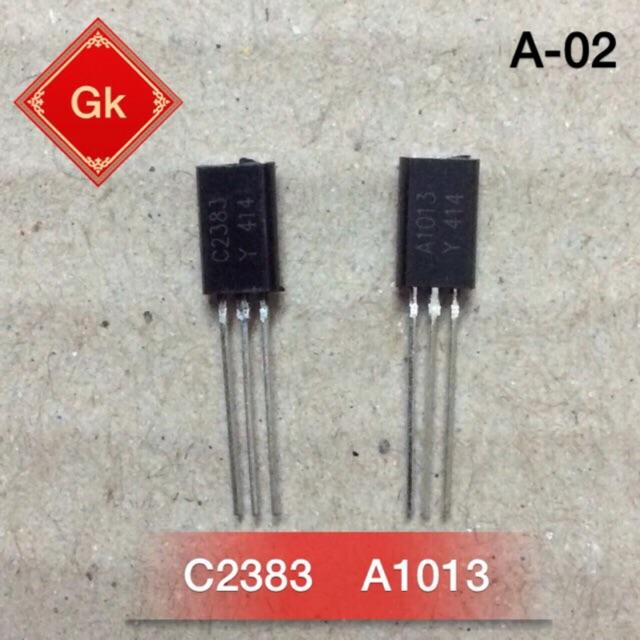 C2383 - A1013 hoặc 2SC2383 - 2SA1013 bán dẫn.