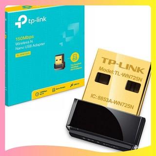 USB Thu Wifi TP-Link Nano TL-WN725N 150 Mbps thu sóng cực mạnh. Hàng full Box. Mới 100%.