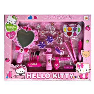 Bộ đồ chơi đồ dùng trang điểm phấn thật Hellokitty/ Frozen cho bé