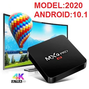 TV box MXQ PRO 4K ANDROID 10.1 gia si