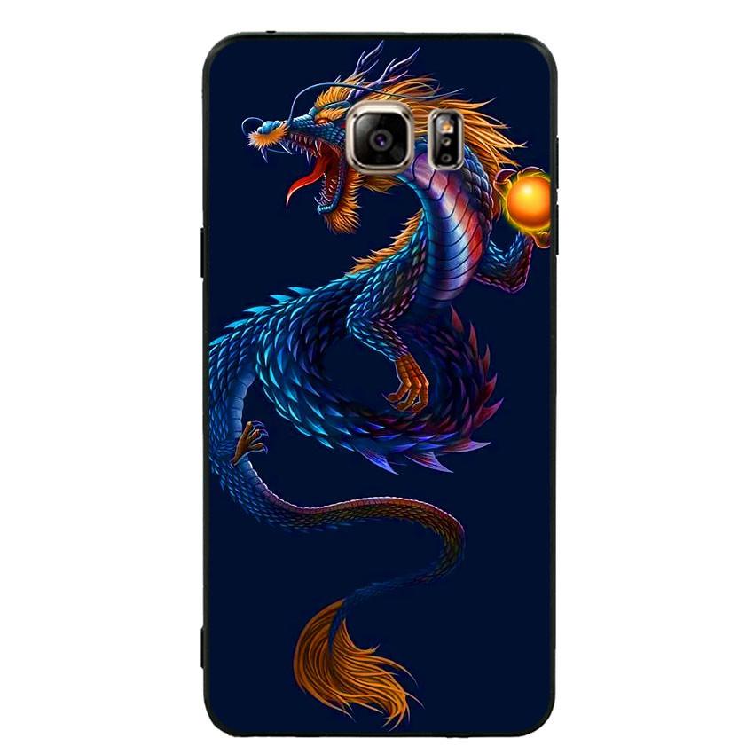 Ốp lưng viền TPU cao cấp cho điện thoại Samsung Galaxy Note 5 -Dragon 08 (hàng chất lượng cao)