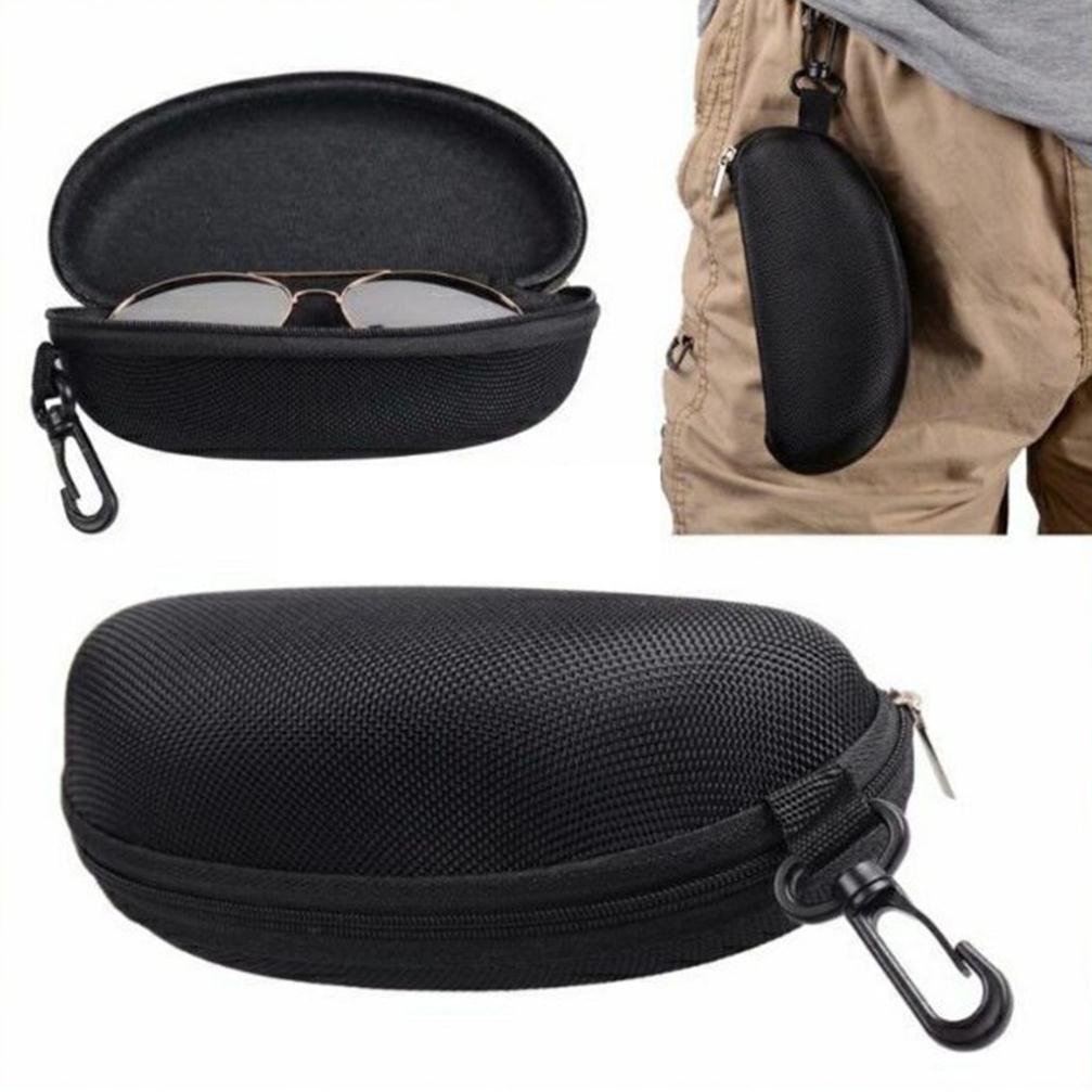 Hộp đựng mắt kính khóa kéo có móc treo / đựng kính mát / kiếng cận/TrúcBùieyewear