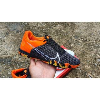 Giầy bóng đá Lunar Gato React IC màu đen cam