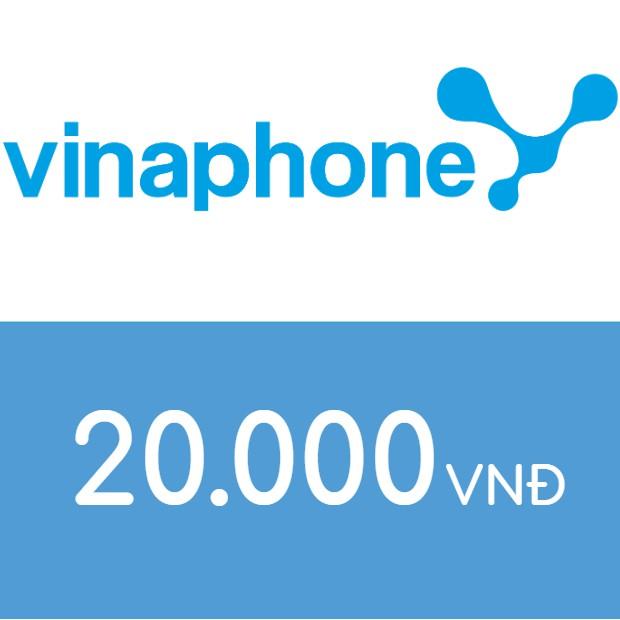 Nạp điện thoại Vinaphone 20K