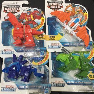 Đồ chơi biến hình Transformer Rescue Bots (4 mẫu)