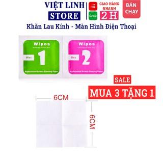Khăn giấy lau màn hình điện thoại - Vệ Sinh Màn Hình Điện Thoại, Laptop, Cường Lực, Kính, Skin - Việt Linh Store thumbnail