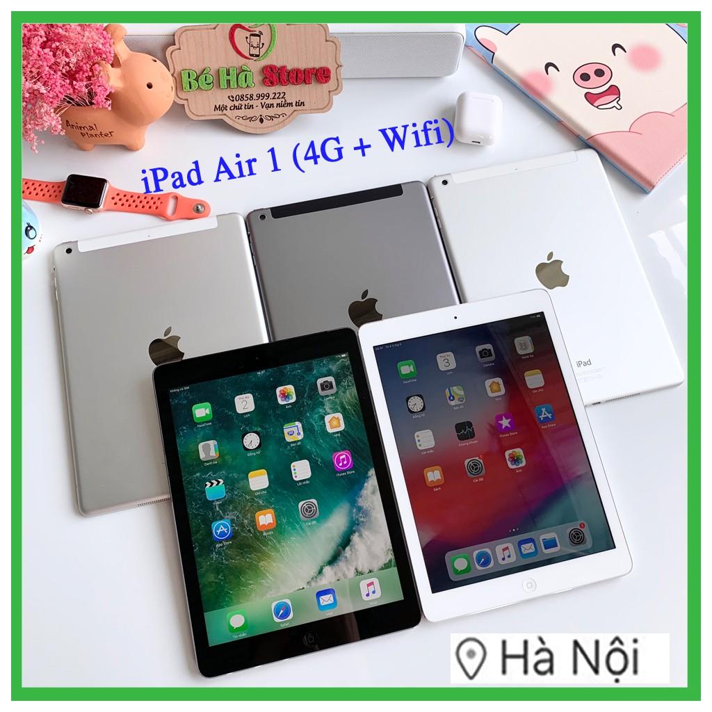 Máy Tính Bảng iPad Air - 32GB (4G + Wifi) Likenew 99% - Zin nguyê