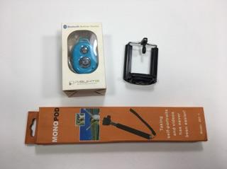 Bộ gậy chụp ảnh tự sướng Monopod Kèm Điều Khiển Bluetooth