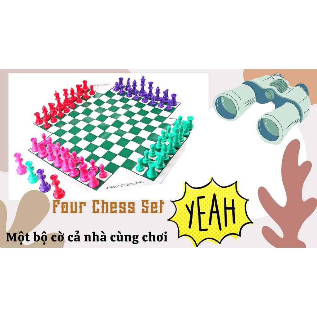 CỜ VUA 4 NGƯỜI CHƠI | 4 PLAYER CHESS