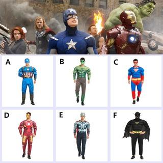 Mặt Nạ Hóa Trang Halloween Hình Người Dơi / Người Nhện / Hulk Cho Bé